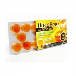 Bucobee Propolis Sabor Miel y Limon 10 Pastillas