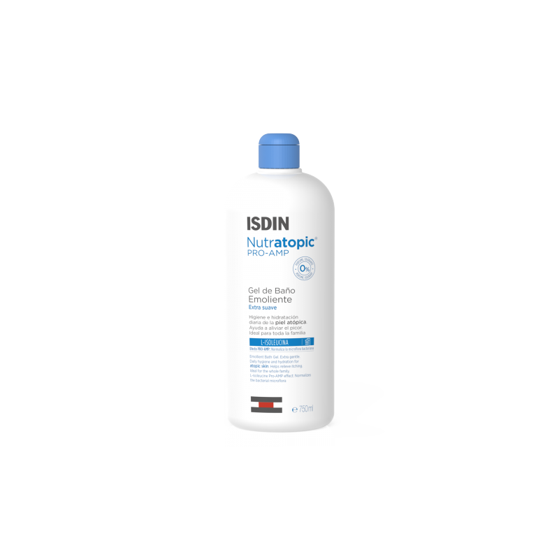 Isdin Nutratopic Pro-Amp GEL 750ml + GRATIS loción 100ml