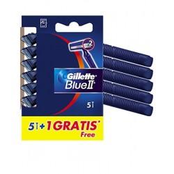 Gillette Blue II Maquinilla Afeitar Desechable 6 Unidades