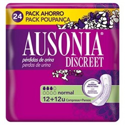 Ausonia Discreet Compresa Normal 24 Unidades