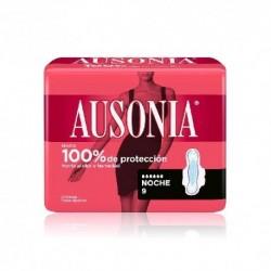 Ausonia Air Dry Compresa con Alas Noche 9 Unidades
