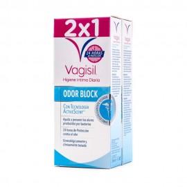 Vagisil Higiene Intima Diaria Odor Block Duplo 2x250ml