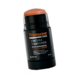 Thiomucase Hombre Quemagrasas Cintura y Abdomen Stick 75 ml