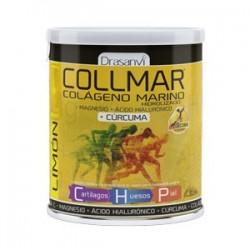 Collmar Colageno Marino + Magnesio + Acido Hialuronico + Curcuma 300g Sabor Limon