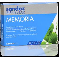 Sandoz Bienestar Memoria 30 Capsulas