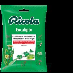 Ricola Bolsa Caramelos S/Azucar Eucalipto 70 g