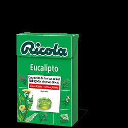 Ricola Caja Caramelos S/Azucar Eucalipto 50 g