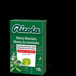 Ricola Caja Caramelos S/Azucar Menta de la Montaña 50 g
