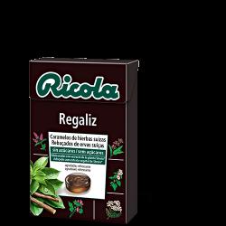 Ricola Caja Caramelos S/Azucar Regaliz 50 g