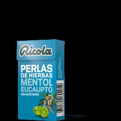 Ricola Perlas S/Azucar Eucalipto Mentol 25 g