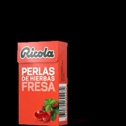 Ricola Perlas S/Azucar Fresa Menta 25 g