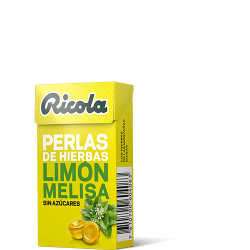 Ricola Perlas S/Azucar Limon Melisa 25 g
