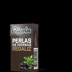 Ricola Perlas S/Azucar Regaliz 25 g