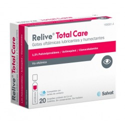 Relive Total Care 20 Ampollas