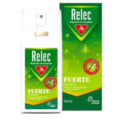 Relec Fuerte Sensitive Spray Antimosquitos 75ml