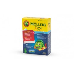 Mollers Omega 3 - 45 Gominolas