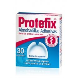 Protefix Almohadilla Adhesiva Maxilar Superior 30 Unidades