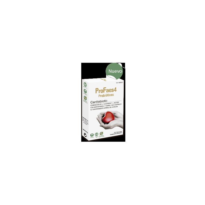 Profaes4 Probioticos Cardiobiotic 30 Capsulas