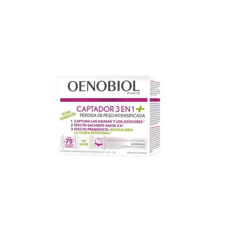 Oenobiol Captador 3 en 1 + 60 Capsulas