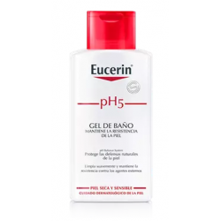 EUCERIN PH5 PIEL SENSIBLE GEL BAÑO 200 ML