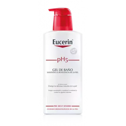 EUCERIN PH5 PIEL SENSIBLE GEL BAÑO 400 ML