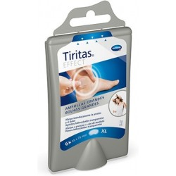 Dermaactive Tiritas Hydro Ampollas xl 75X45 mm 6 Uni