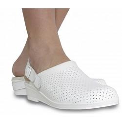 Hankshoes Zuecos Confort 36 Blanco