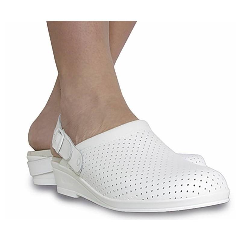 Hankshoes Zuecos Confort 37 Blanco