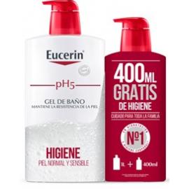Eucerin pH5 Gel de Baño 1000 ml + Gratis 400 ml