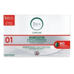 Be+ Capilar Anticaida Uso Continuo Forte 90 Comprimidos