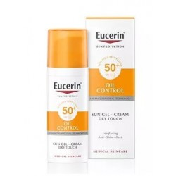 EUCERIN SOLAR F50+ GEL CREMA OIL CONTROL DRY TOUCH 50 ML