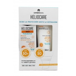 Heliocare 360 Pediatrics Pack Mineral SPF50 50ml + Lotion SPF50 200ml
