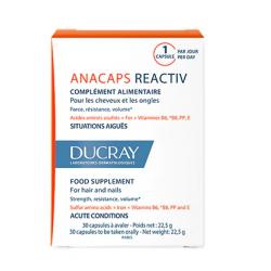 Ducray Anacaps Reactiv 30 Capsulas