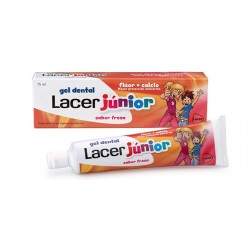 GEL LACER JUNIOR FRESA 75 ml