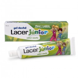 Lacer Gel Lacer Junior Menta 75 ml