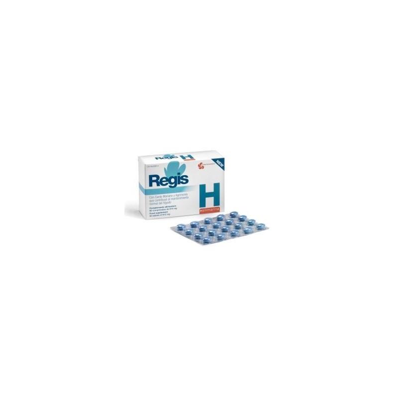 Regis H Silimarina 60 Comprimidos