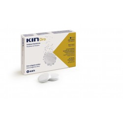 Kin Oro Limpieza Protesis Dental 30 Tabletas Efervescentes