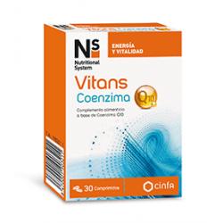 NS Vitans Coenzima Q10 30 Comprimidos
