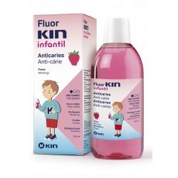 Fluor Kin Infantil Enuague Bucal 500 ml