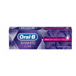 Oral B 3D White Luxe Brillo Seductor Pasta 75 ml