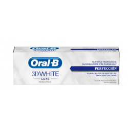 Oral B 3D White Luxe Pasta Blanqueante 75 ml