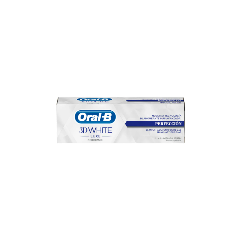 Oral B 3D White Luxe Pasta Blanqueante 75 ml