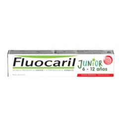 Fluocaril Junior Pasta Sabor Frutos Rojos 75 ml