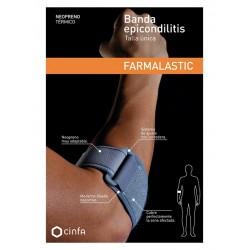 Farmalastic Codera Banda Epicondilitis Neopreno Gris t. Unica
