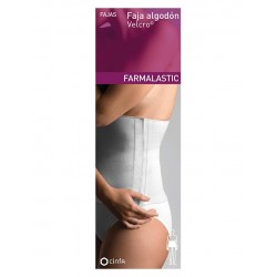 Farmalastic Faja Algodon Velcro Beige t3