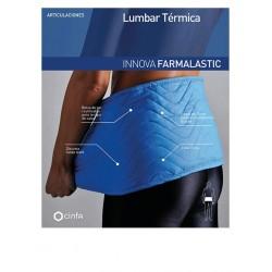 Farmalastic Faja Lumbar Termica Azul Talla Unica
