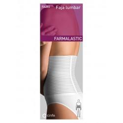 Farmalastic Faja Lumbar Velcro Blanca t2