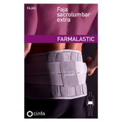 Farmalastic Faja Sacrolumbar Extra Gris 108 cm t3