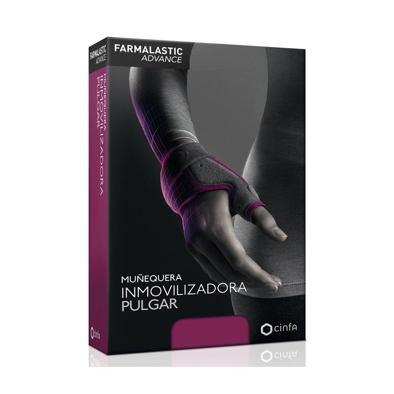 Farmalastic Advance Muñequera Inmovilizadora Pulgar Talla 2