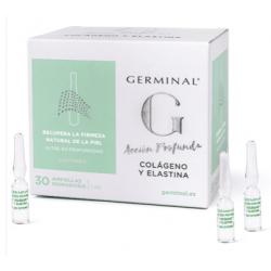 Germinal Acción profunda Colageno y Elastina 30 Ampollas